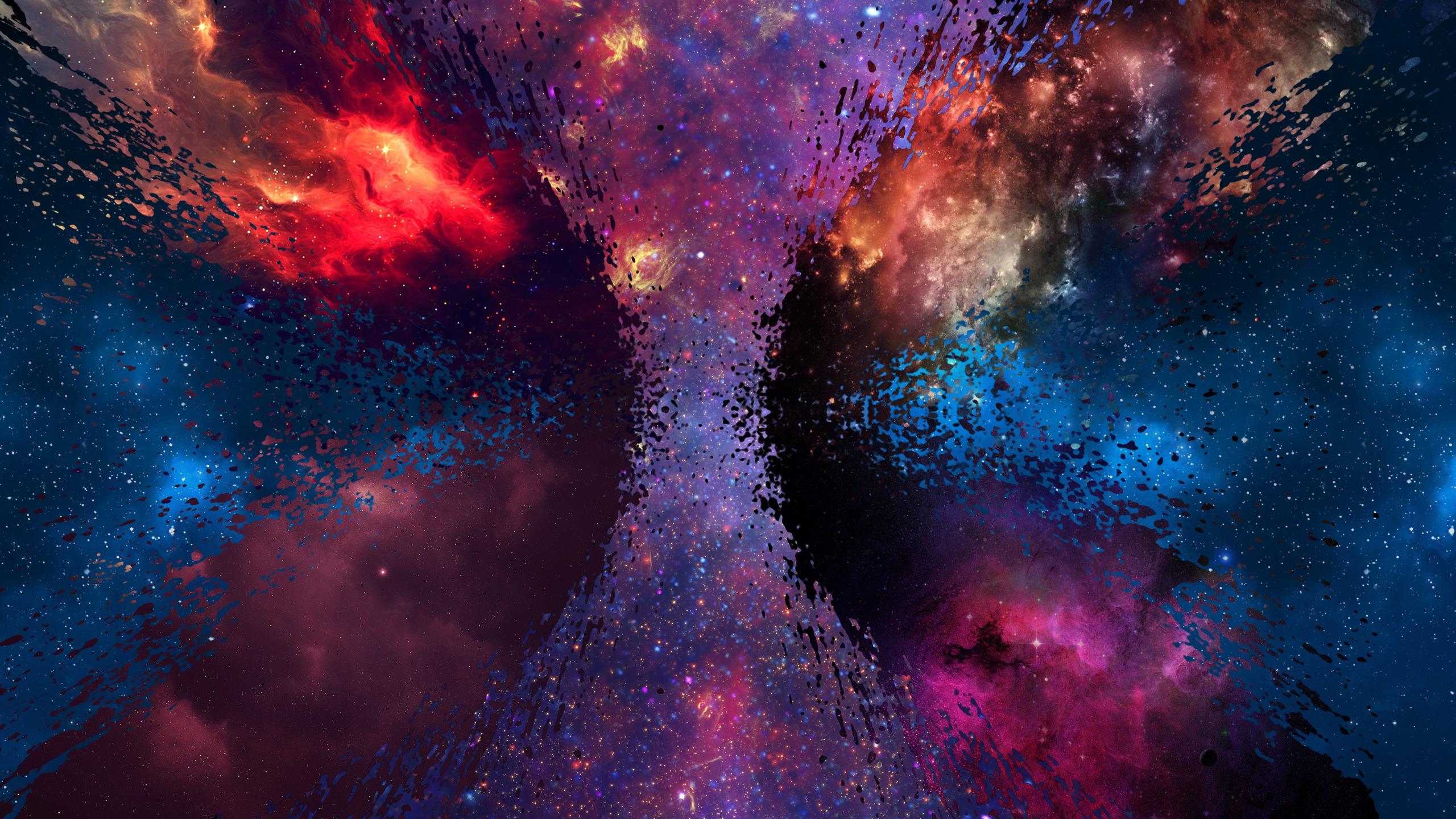 Galaxy Universe Wallpaper Space 2560x1440 Download Hd Wallpaper Wallpapertip