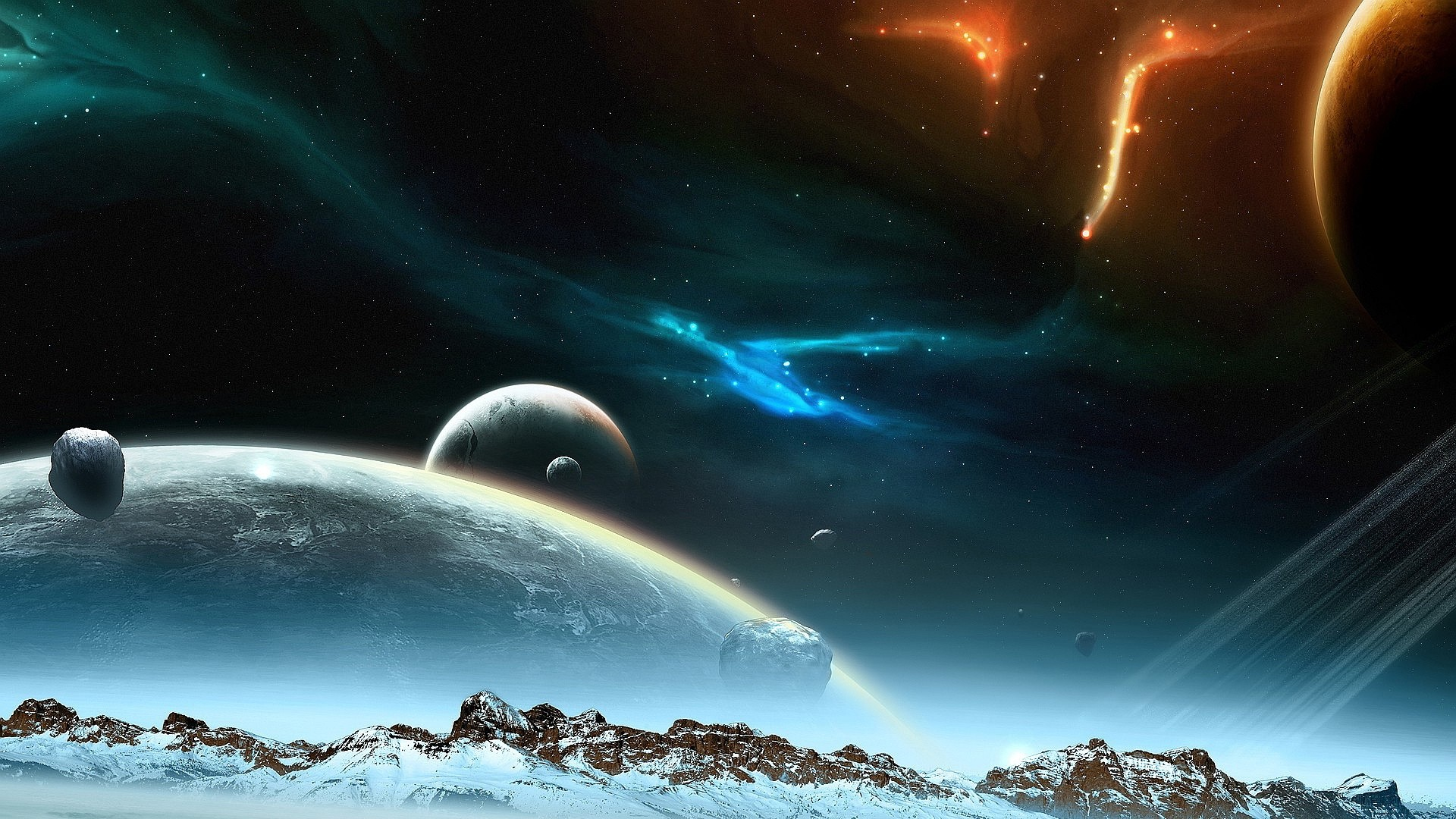1080p Space Background Free Download
