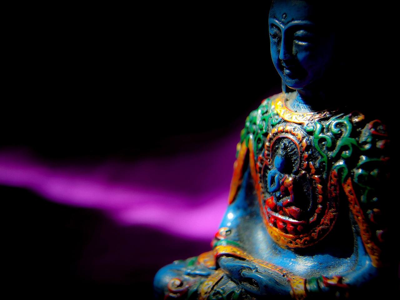 Schwarz Buddha Tapete Hd 1280x960 Hintergrundbild 1280x960 Wallpapertip