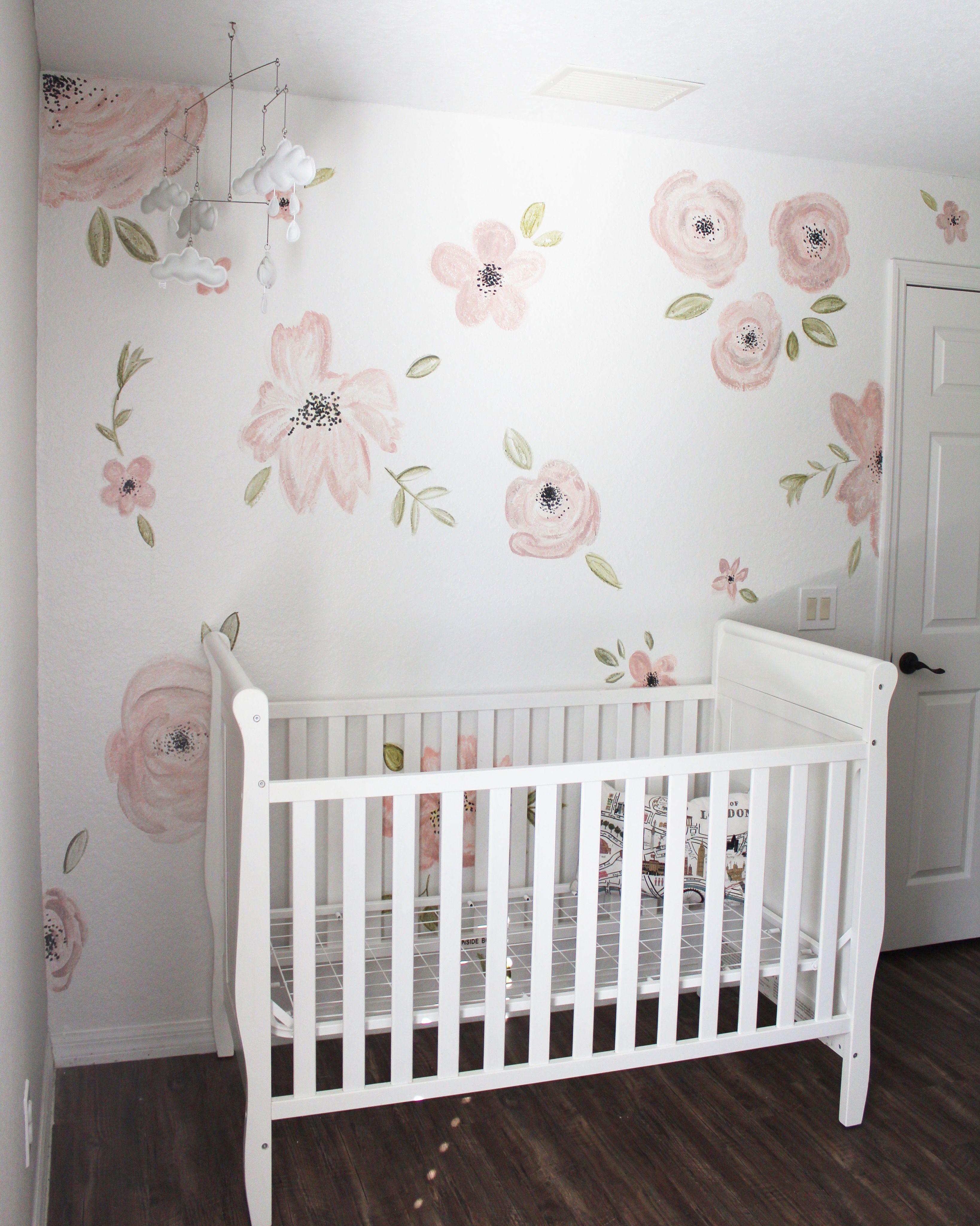 Painted Flower Wall Nursery 3276x4096 Download Hd Wallpaper Wallpapertip