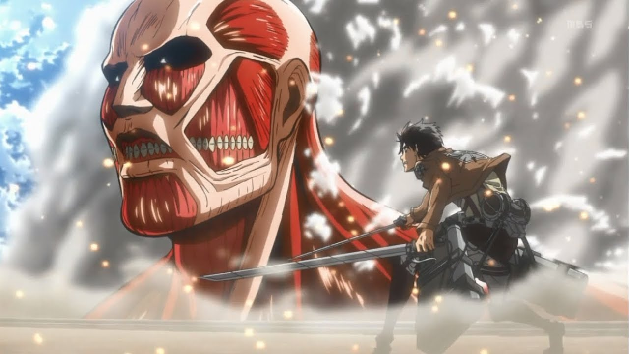Shingeki No Kyojin Gif 1280x720 Download Hd Wallpaper Wallpapertip