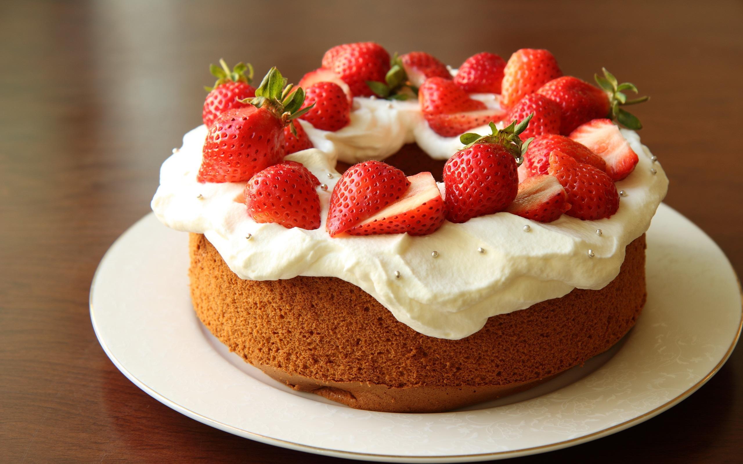 ケーキいちごhd ケーキの壁紙 2560x1600 Wallpapertip