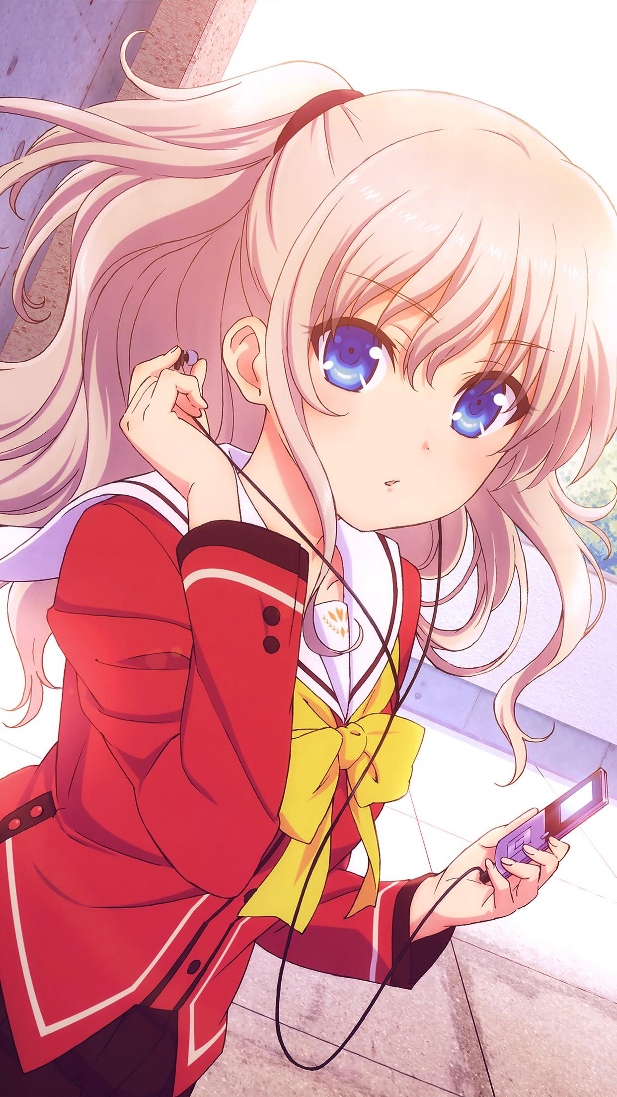 Anime Girl Cute Wallpaper Hd - 10x10 - Download HD Wallpaper