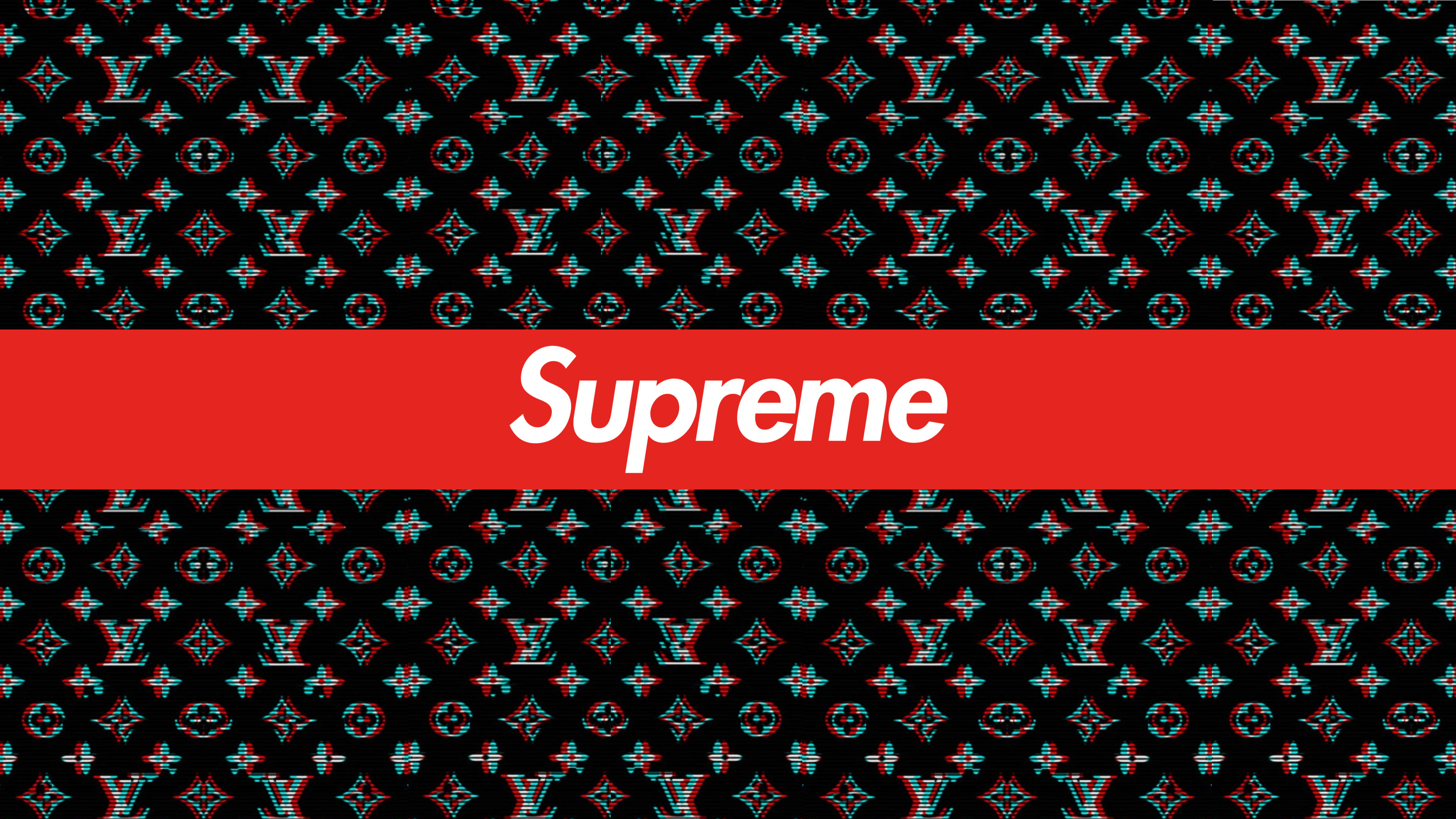 Louie Vuitton Wallpapers Cool Backgrounds Supreme 3840x2160 Download Hd Wallpaper Wallpapertip