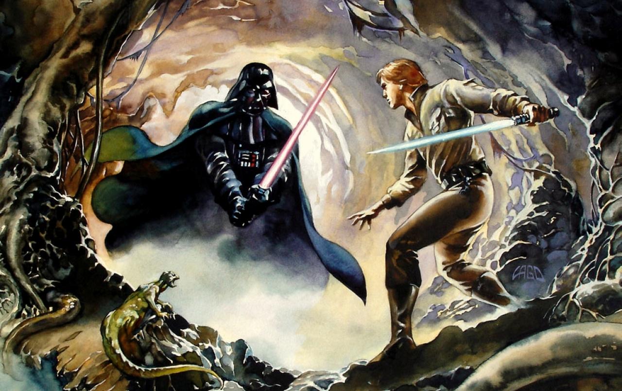 3 31783 luke skywalker vs darth vader wallpapers darth vader