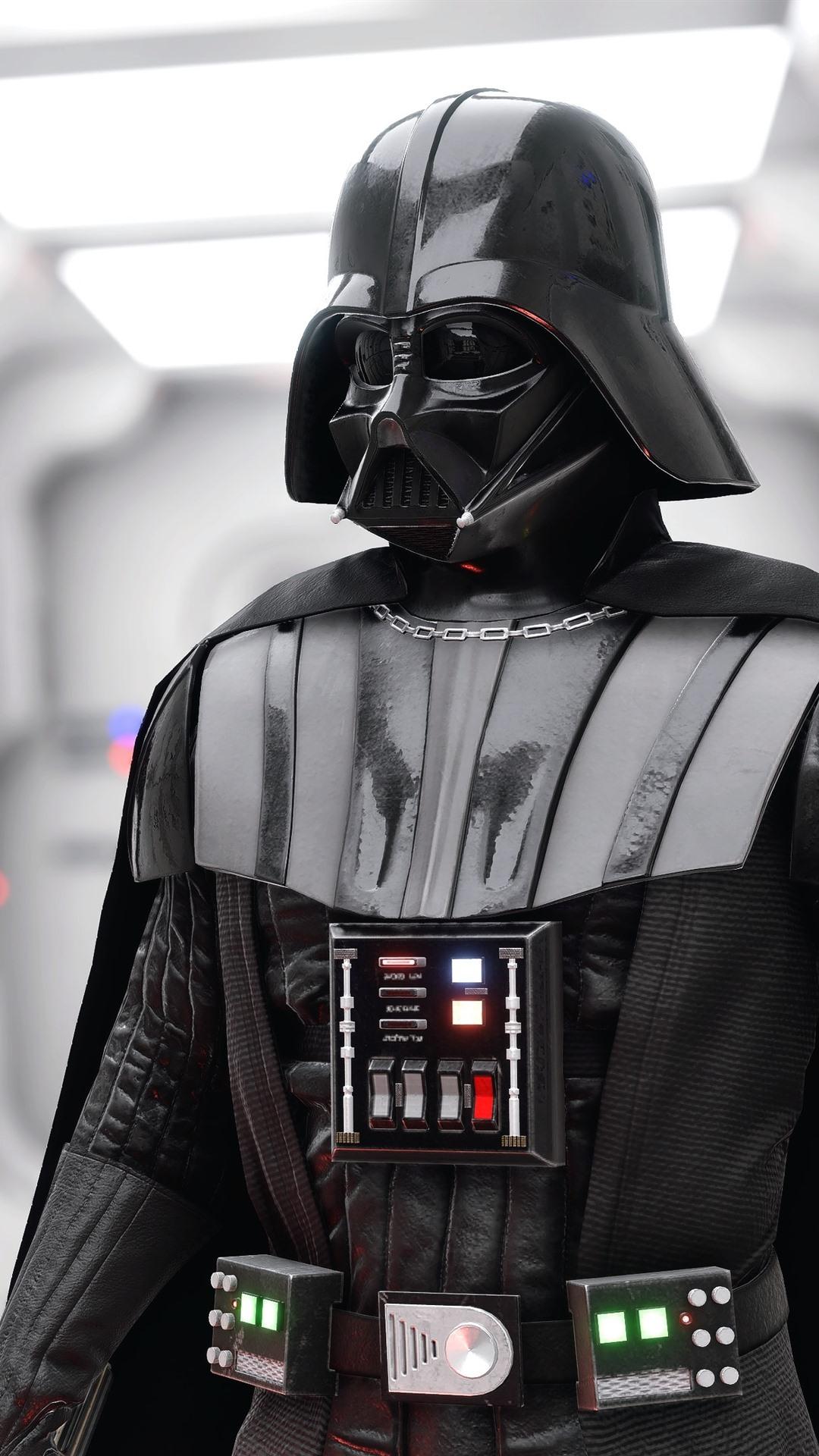 Iphone Wallpaper Darth Vader Star Wars Darth Vader Battlefront 2 1080x1920 Download Hd Wallpaper Wallpapertip