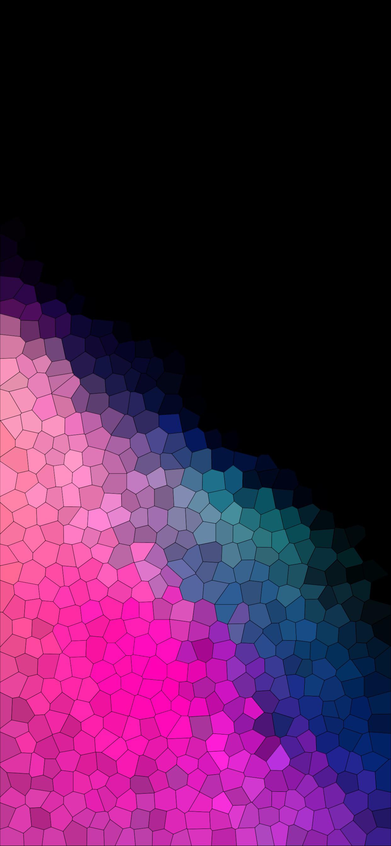 Mosaic For Iphonexsmax Iphonexr True Black Gradient Hd Wallpaper Iphone Xsmax 1242x2688 Download Hd Wallpaper Wallpapertip