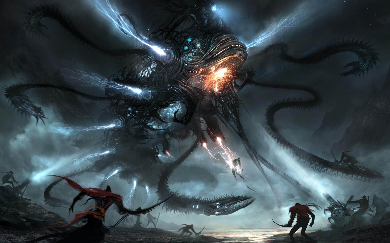 3 33727 alien space battle