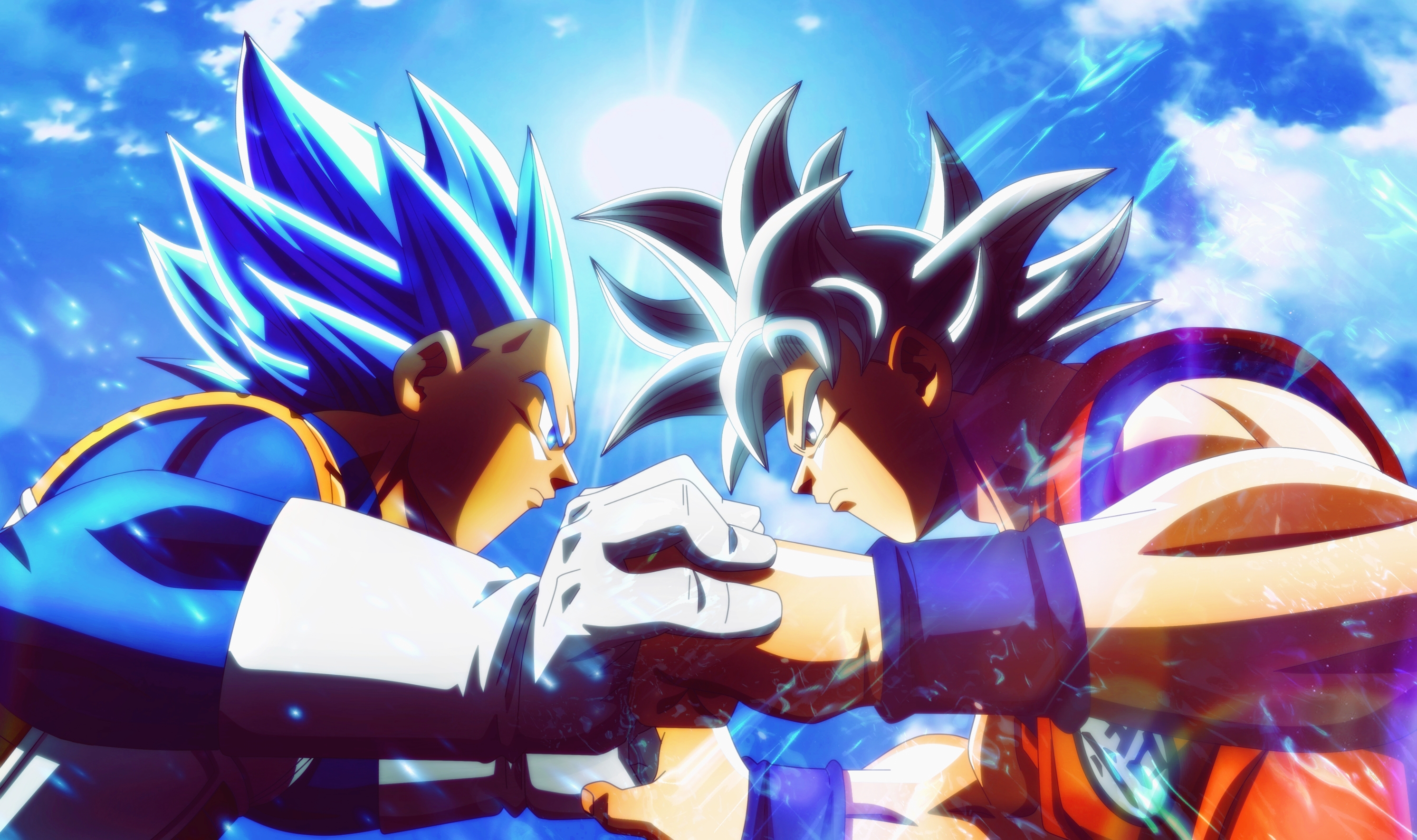 Goku Vs Vegeta Wallpaper Vegeta Vs Goku Wallpaper Hd 2982x1769 Download Hd Wallpaper Wallpapertip