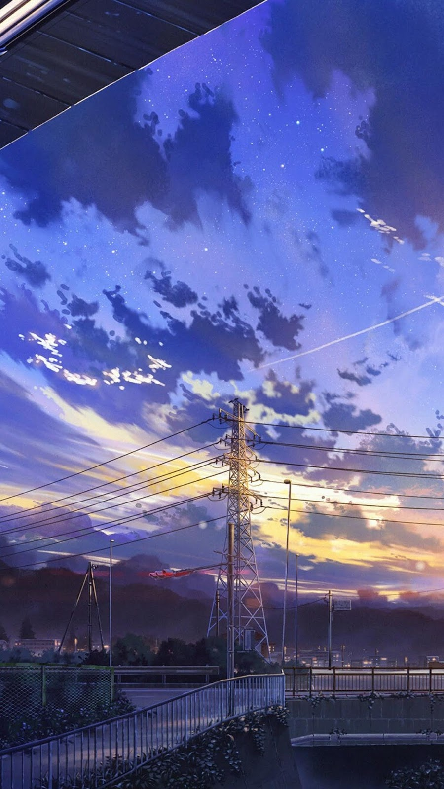 Wallpapers 4k Para Celular Anime Landscape 900x1600 Download Hd Wallpaper Wallpapertip