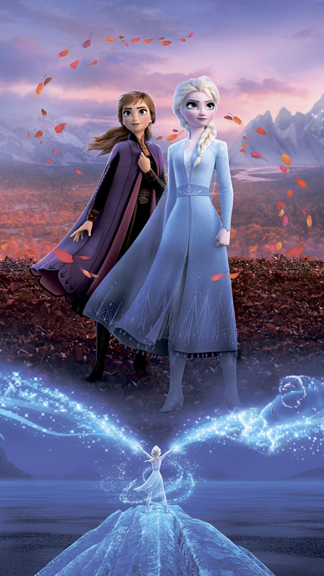 Frozen 2 Movies 2019 Movies Hd Disney Poster Frozen 2 Wallpaper Iphone 720x1280 Download Hd Wallpaper Wallpapertip