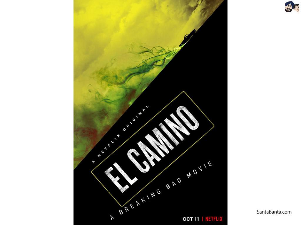 El Camino A Breaking Bad Movie Poster 1024x768 Download Hd Wallpaper Wallpapertip