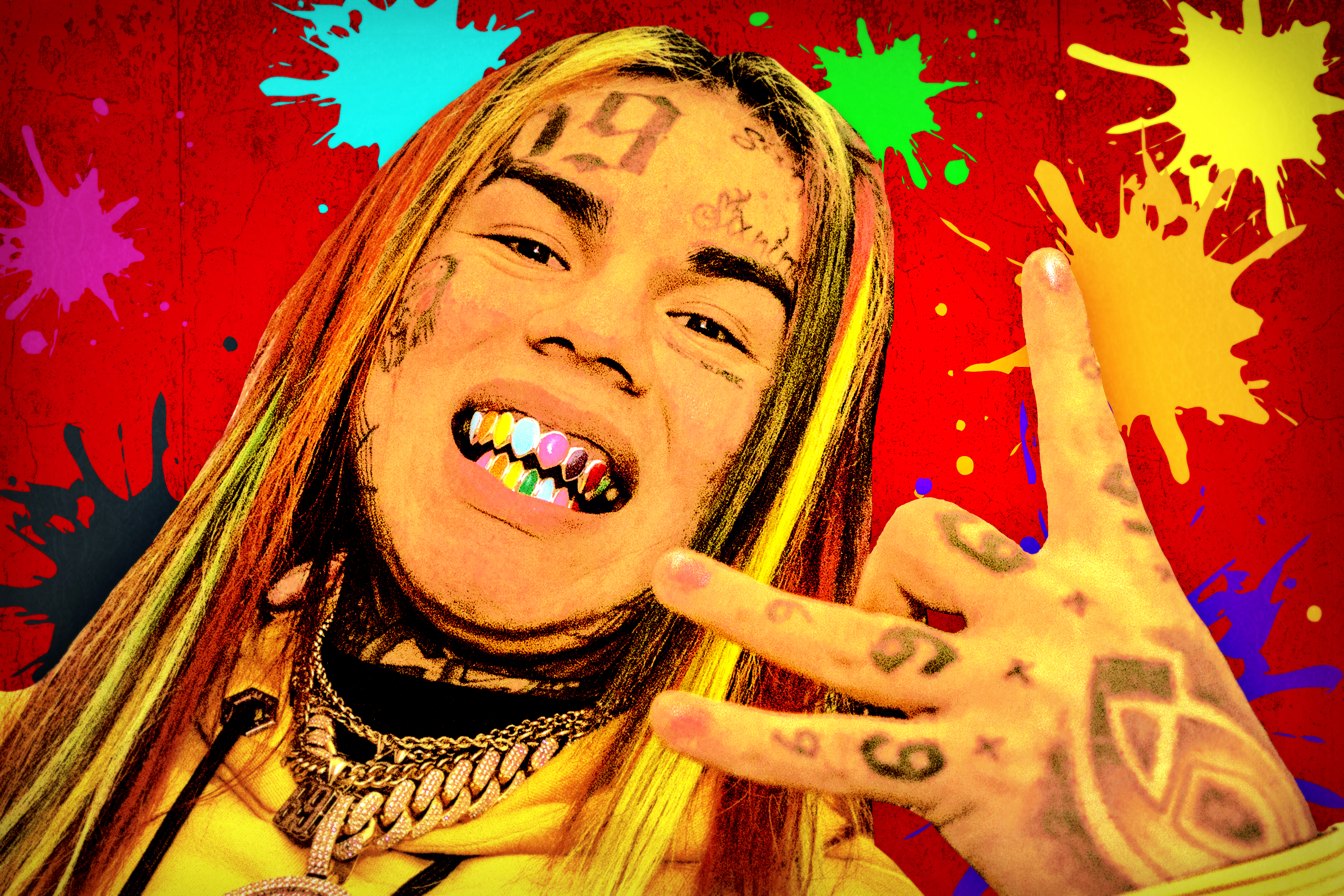 Meet 6ix9ine The First Rap Star Of 2018 Is Easy To 6ix9ine Wallpaper 4k 3000x2000 Download Hd Wallpaper Wallpapertip