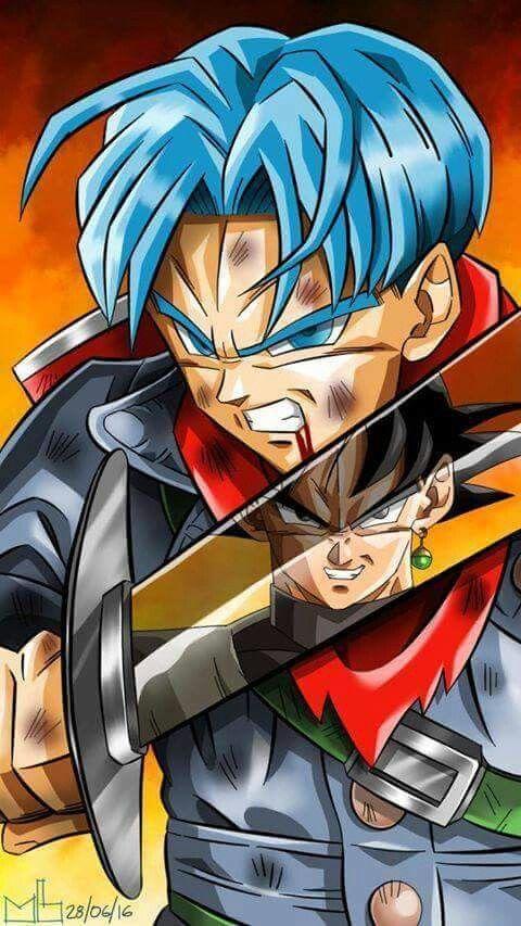 Trunks Y Goku Black 480x853 Download Hd Wallpaper Wallpapertip