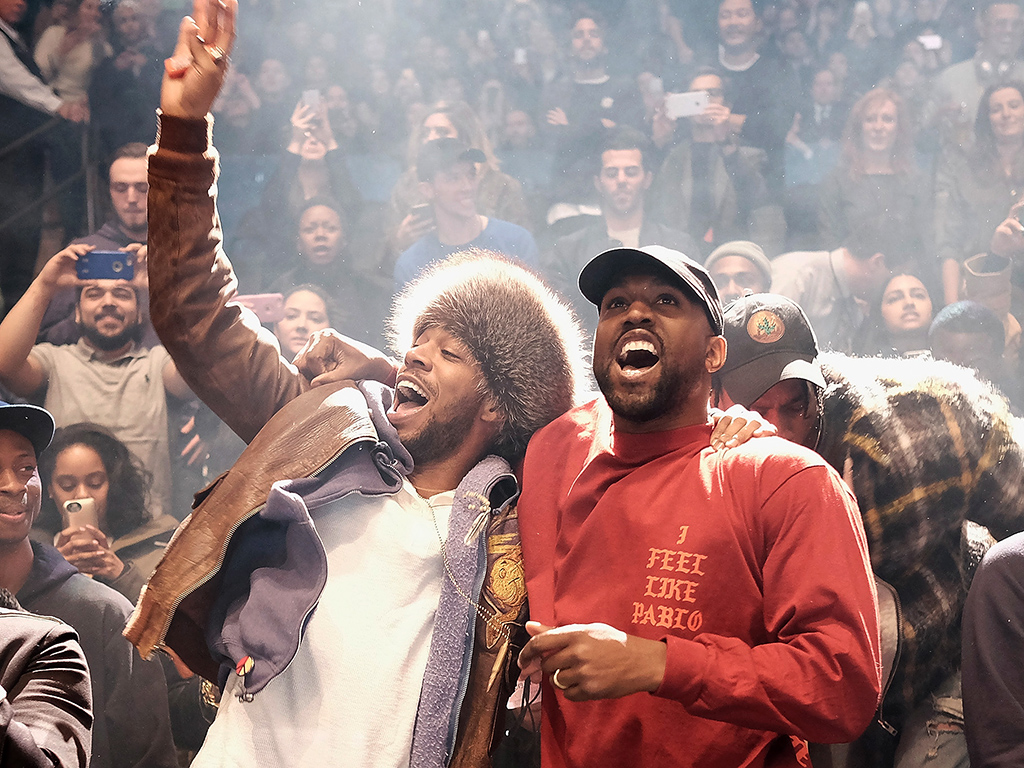 Kanye West And Kid Cudi 1024x768 Download Hd Wallpaper Wallpapertip