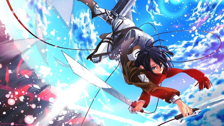 Mikasa Attack On Titan 4k Mikasa Attack On Titan Wallpaper 4k 914x514 Download Hd Wallpaper Wallpapertip