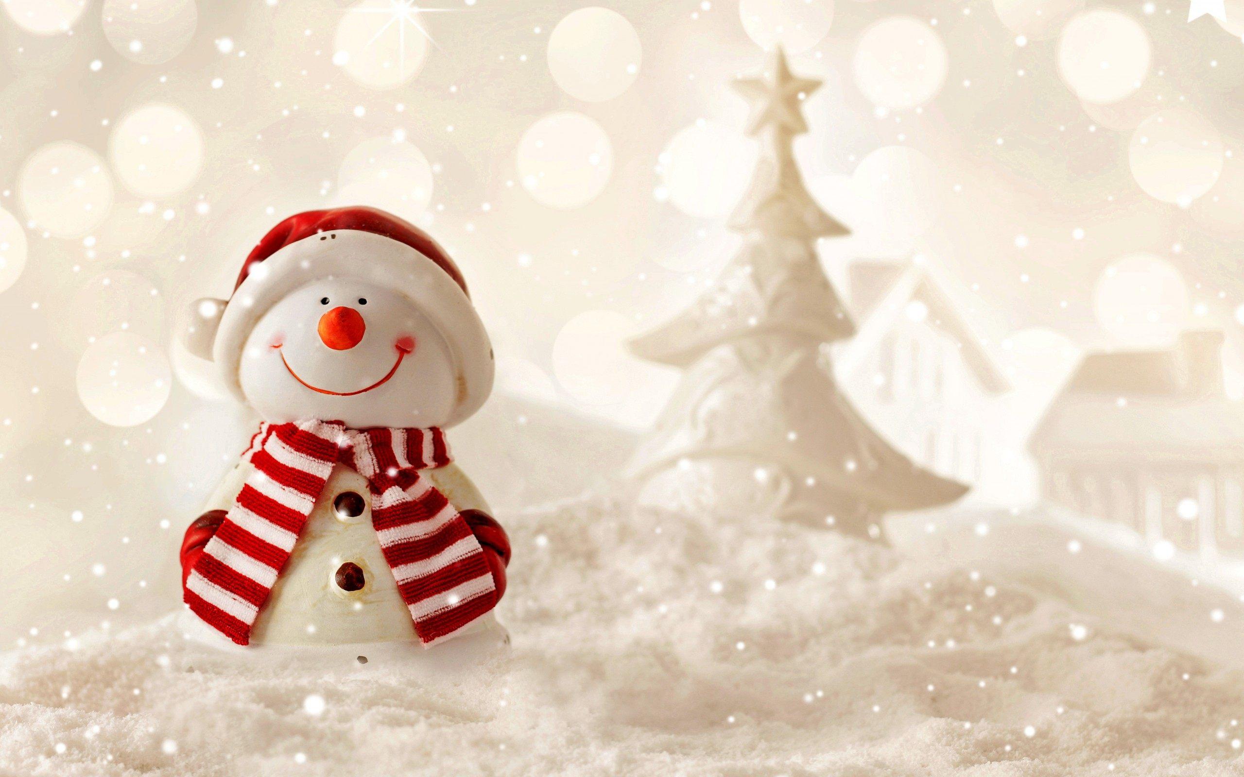 Snowman Background 2560x1600 Download Hd Wallpaper Wallpapertip