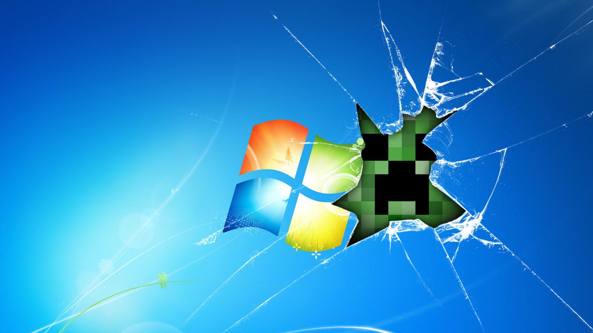 Minecraft壁紙窓7 窓デスクトップ壁紙hd 1600x900 Wallpapertip