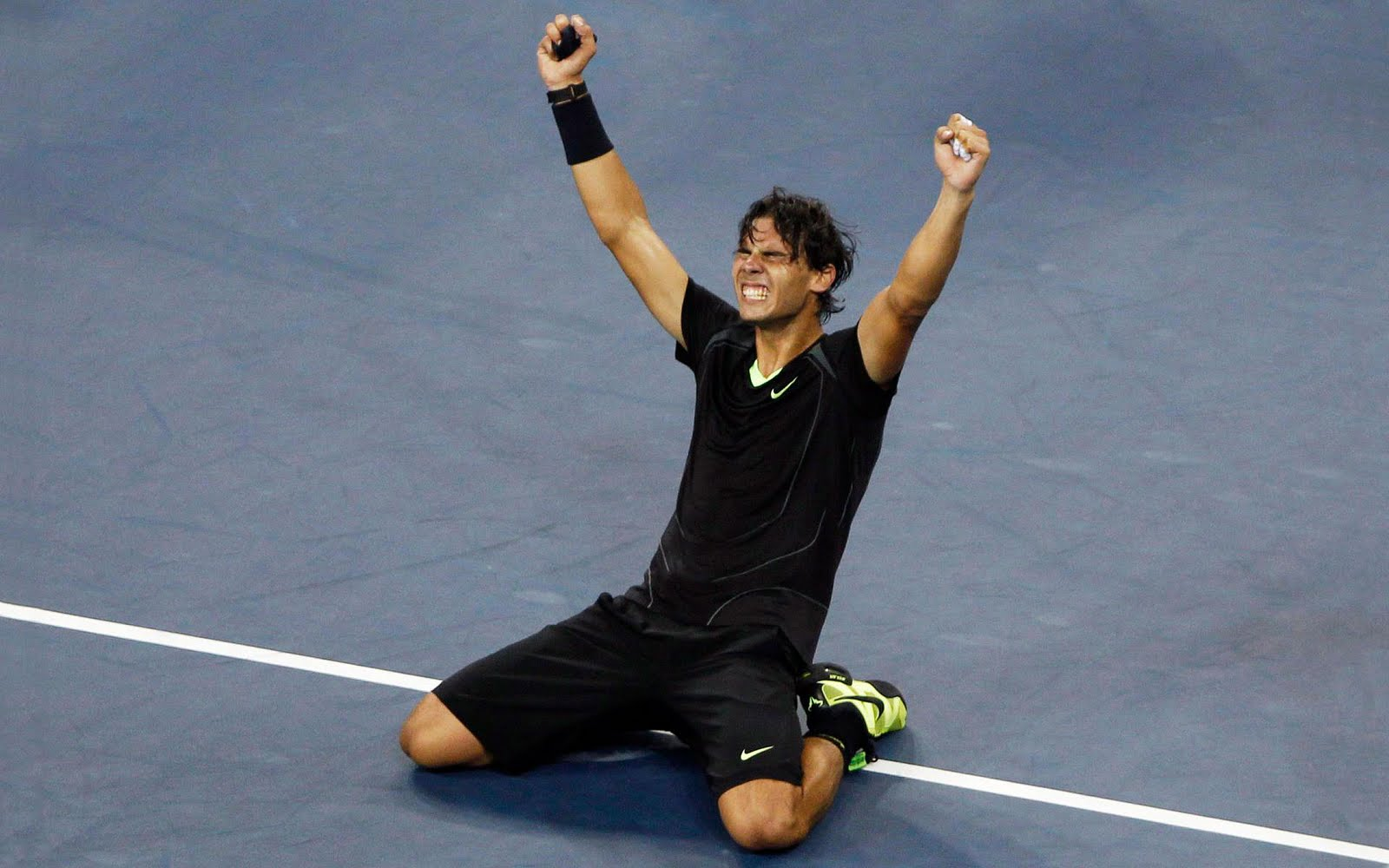 Rafa Nadal Victory 1600x1000 Download Hd Wallpaper Wallpapertip