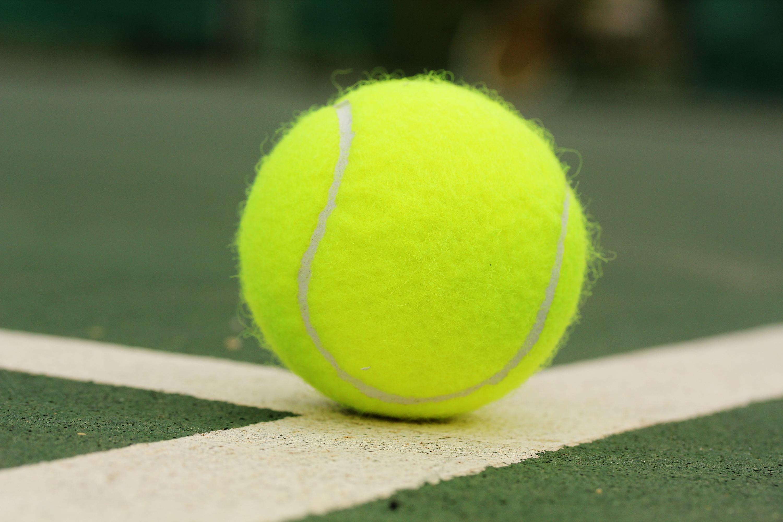Tennis Ball On Surface Of Hard Court Download Links Tennis Ball High Resolution 3000x2000 Download Hd Wallpaper Wallpapertip