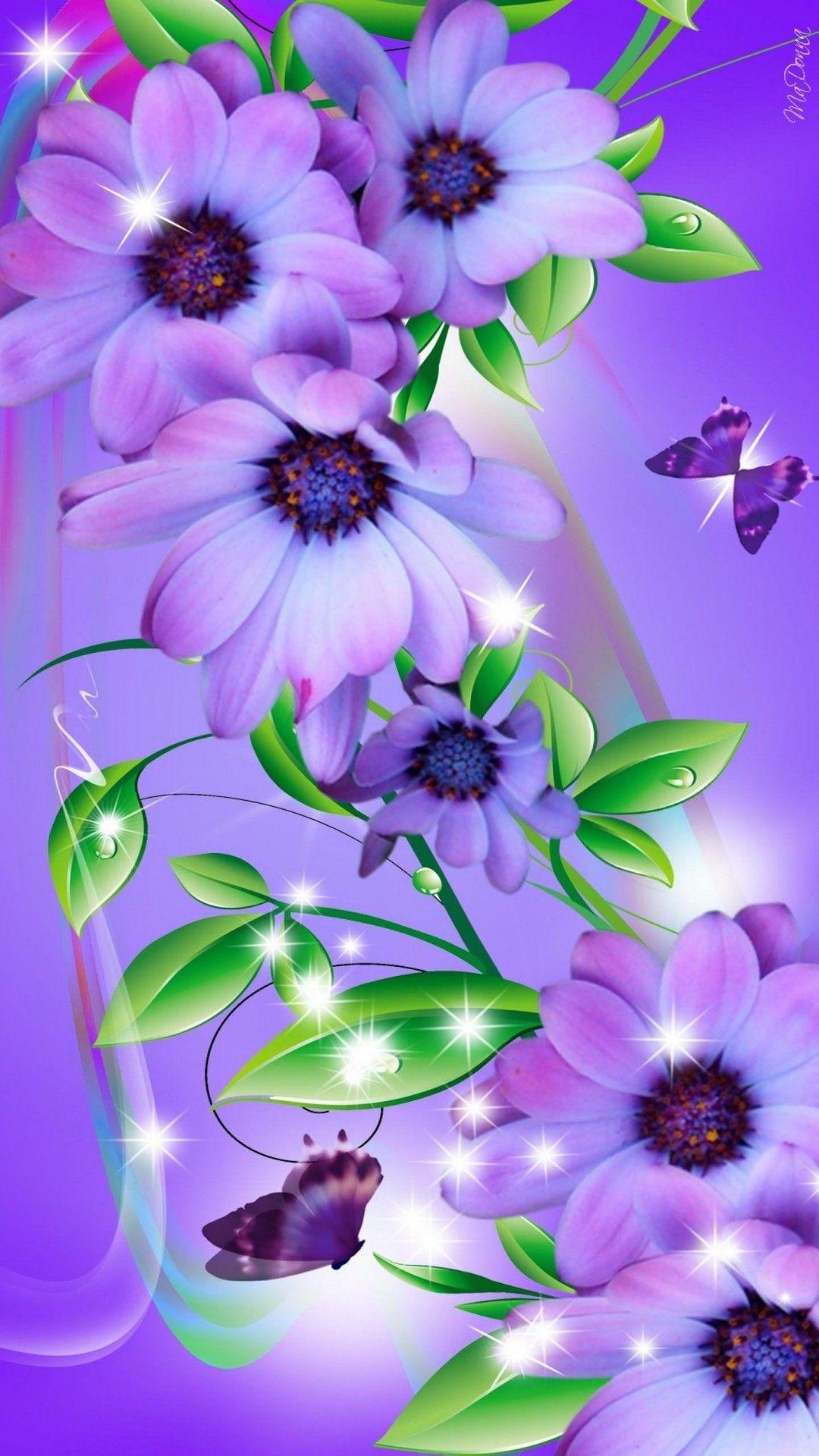mariposa flor fondos de pantalla hd - lindo fondo de pantalla de mariposa - 1080x1920 - WallpaperTip