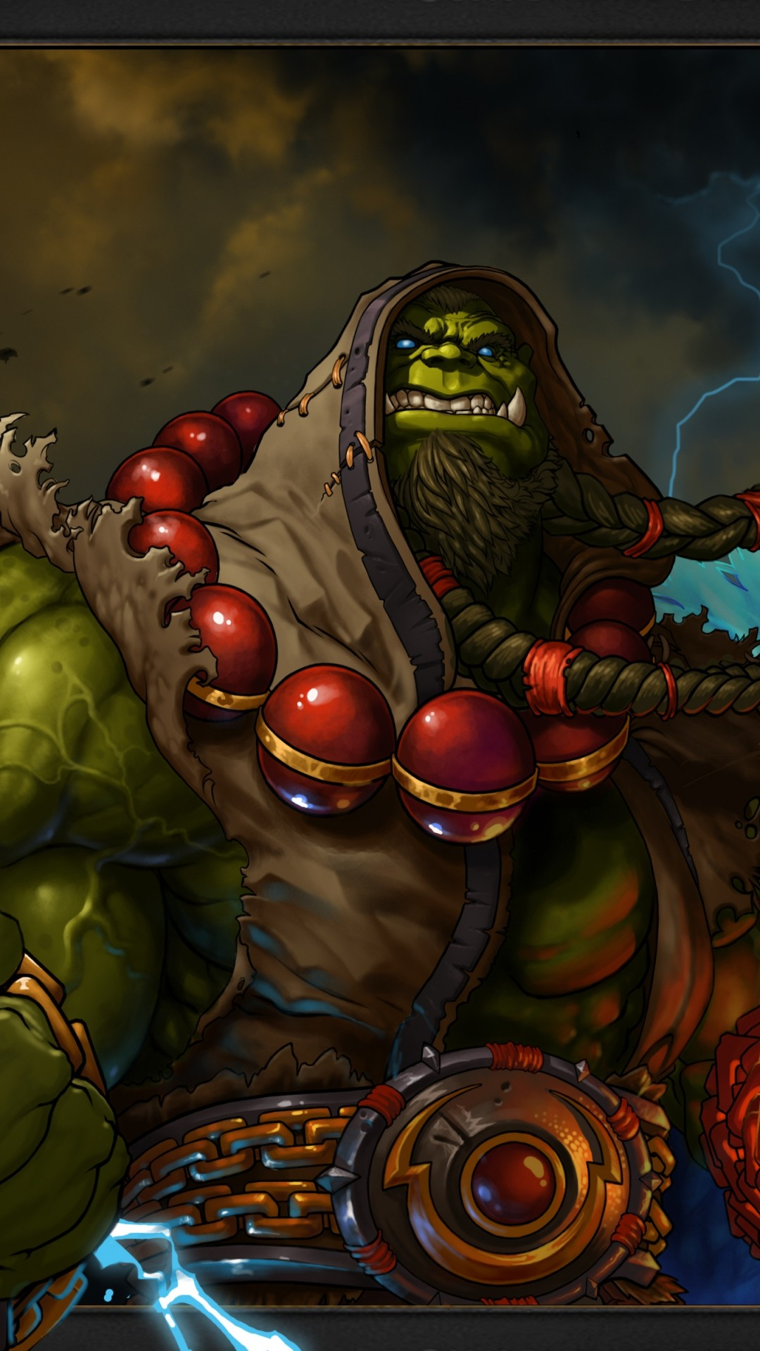warcraft orc shaman art