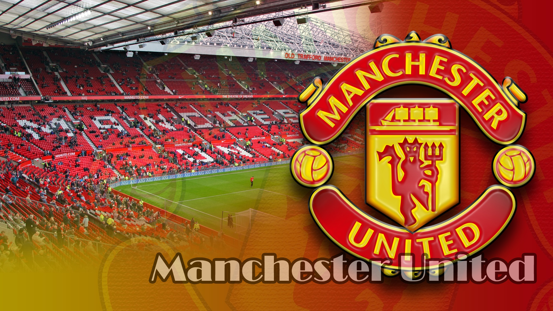 Manchester United Images Free Download 1920x1080 Download Hd Wallpaper Wallpapertip