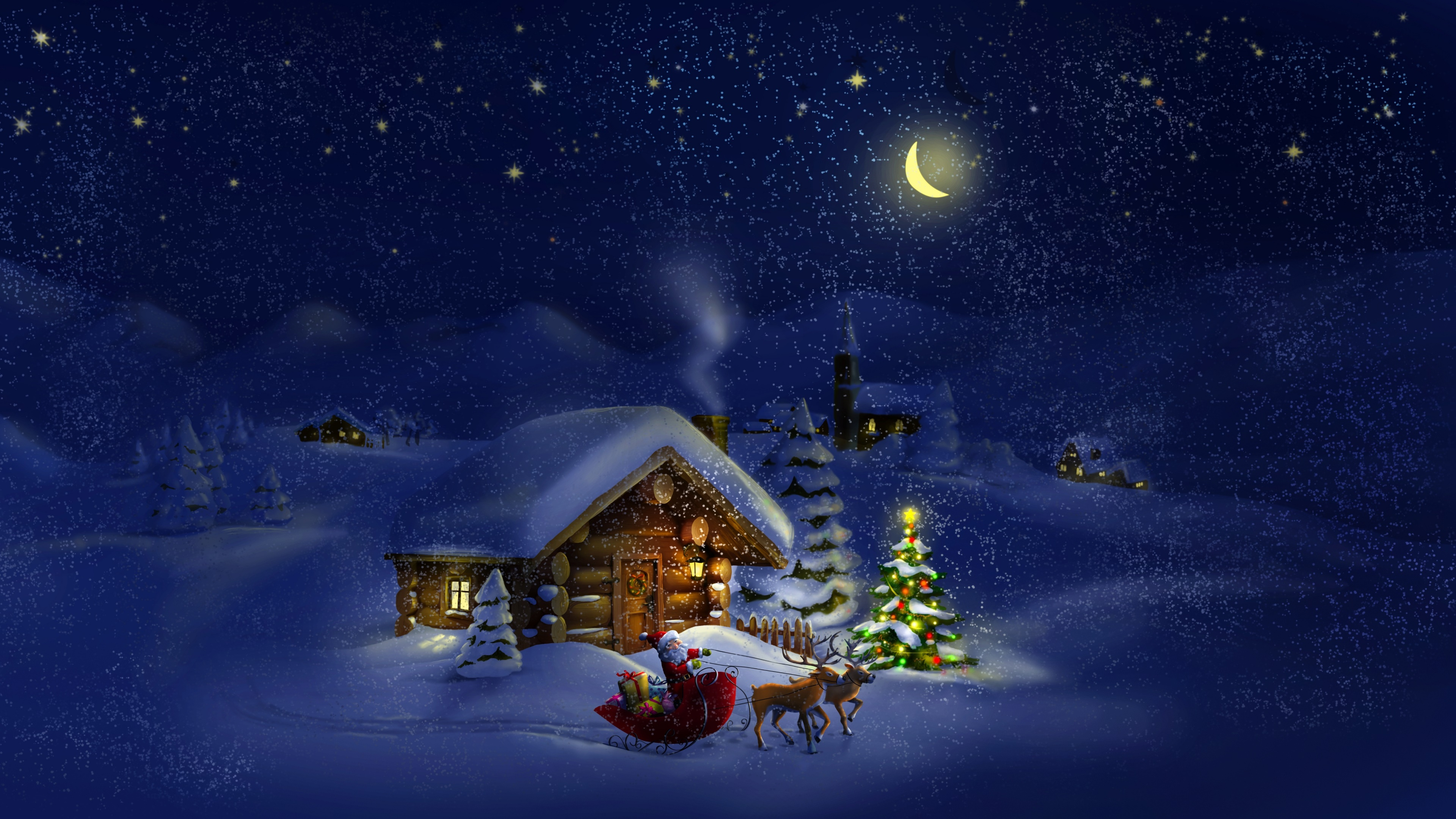 32 323741 4k christmas desktop background