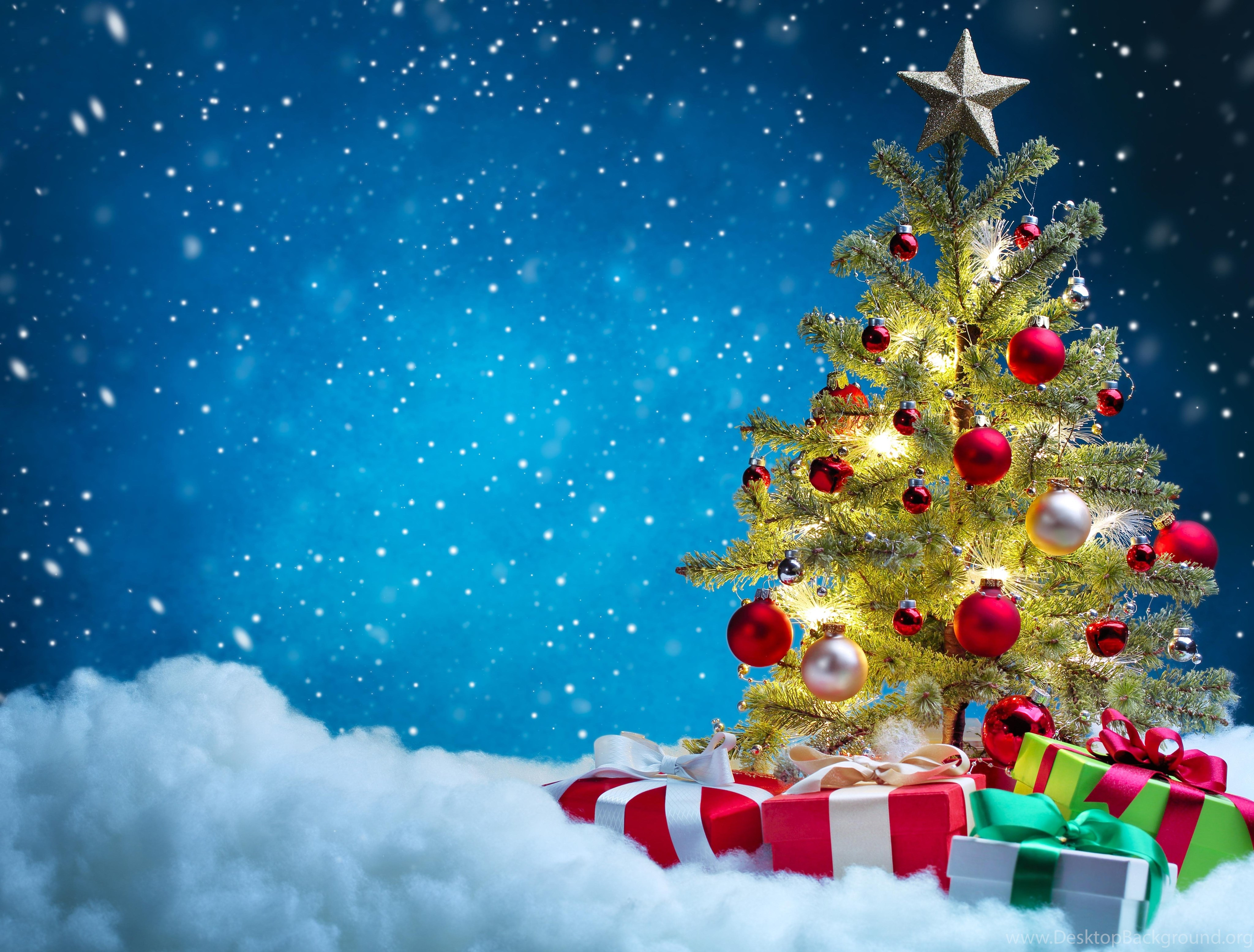 Christmas Tree Desktop Wallpaper - 1280x900 - Download HD ...
