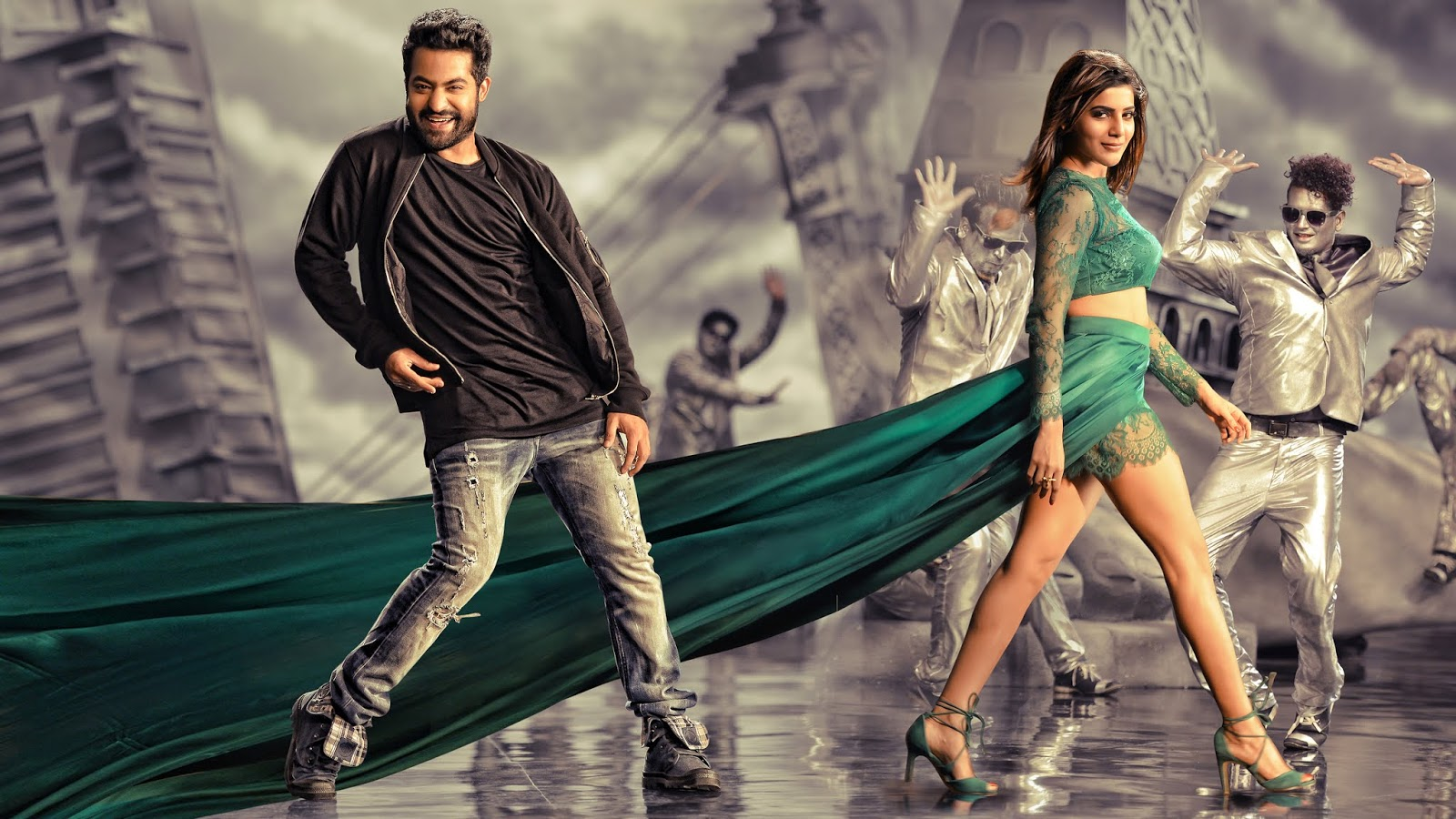 Samantha Ruth Prabhu Janatha Garage 1366x768 Download Hd Wallpaper Wallpapertip