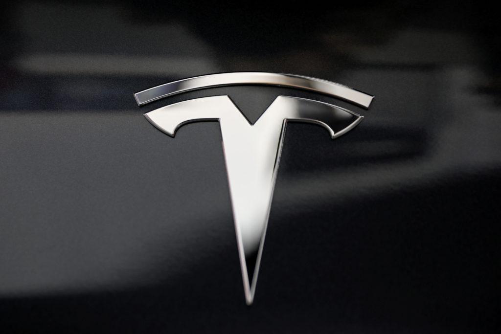 A Tesla Logo Is Seen In Los Angeles California 1024x683 Download Hd Wallpaper Wallpapertip