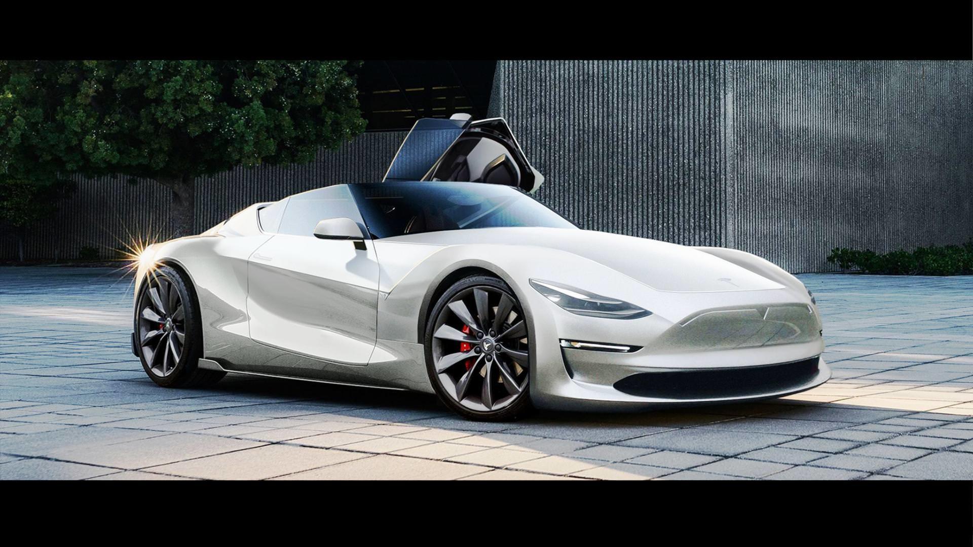 Tesla Roadster Wallpaper High Quality Resolution Tesla Sports Car 2019 1920x1080 Download Hd Wallpaper Wallpapertip