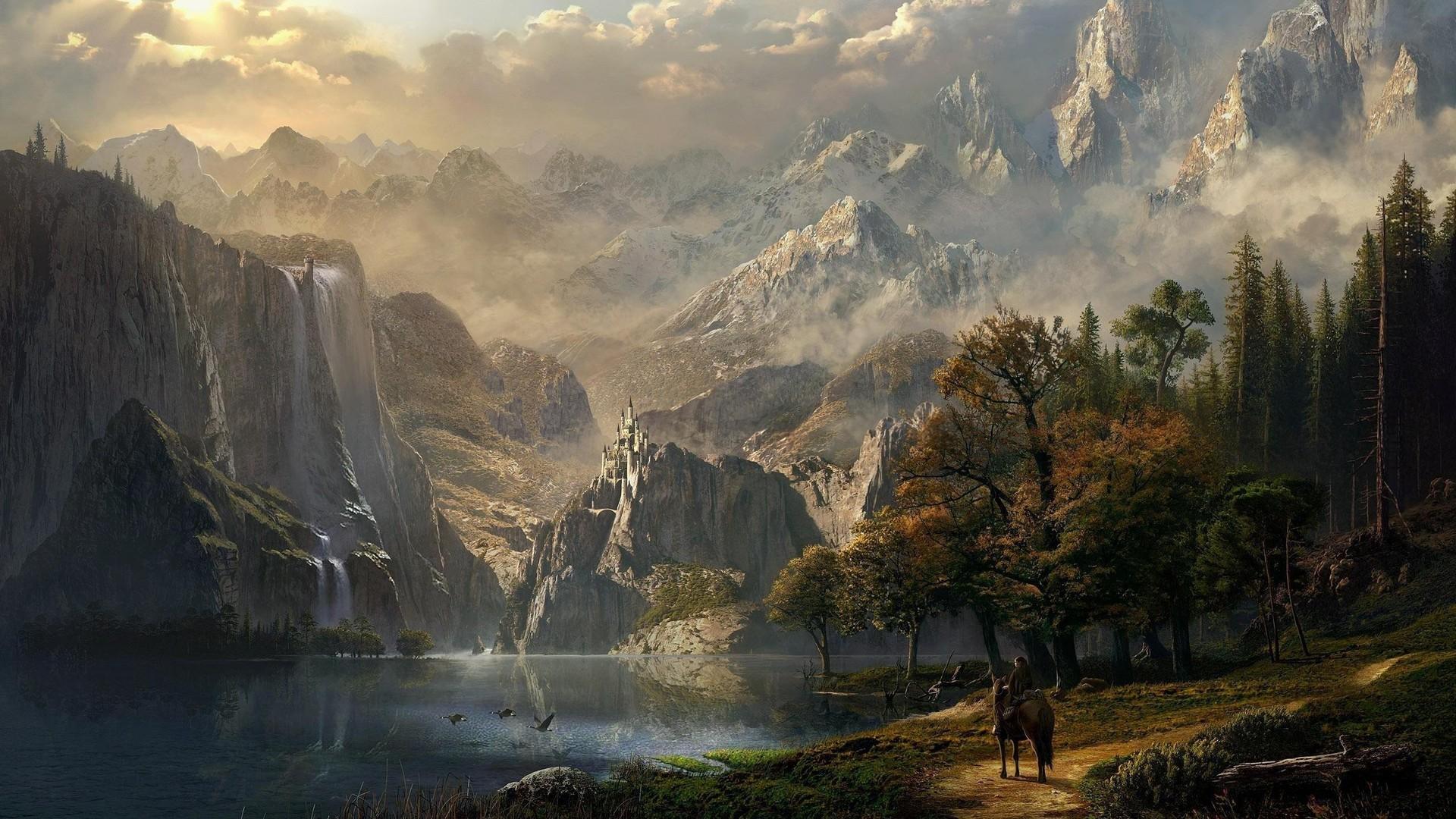 Fantasy Landscape - 1920x1080 ...