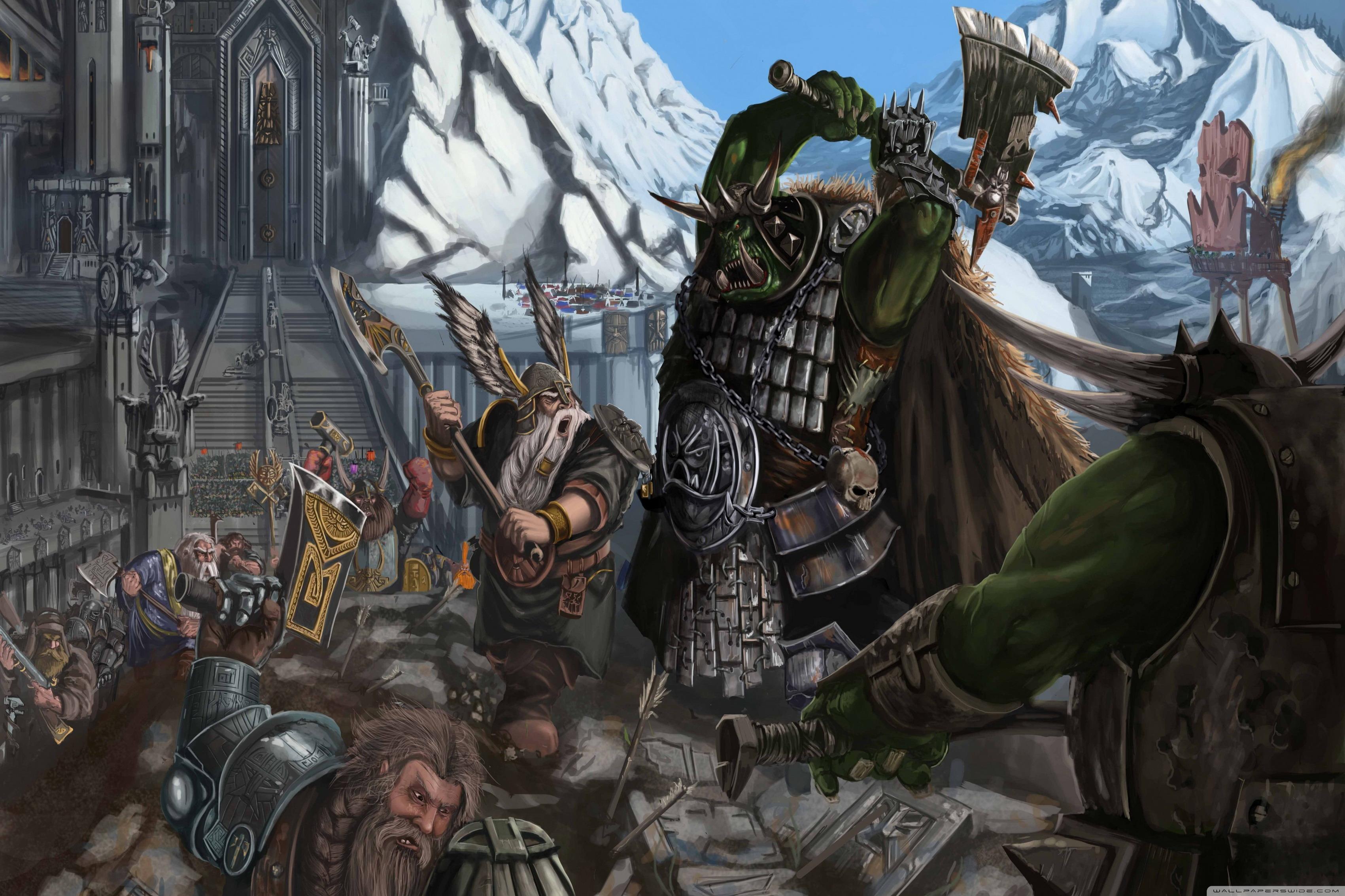 Warhammer Fantasy Battle Art 3402x2268 Download Hd Wallpaper Wallpapertip