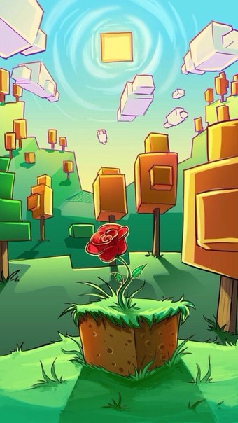 Minecraft Phone Backgrounds Illustration 340x604 Download Hd Wallpaper Wallpapertip