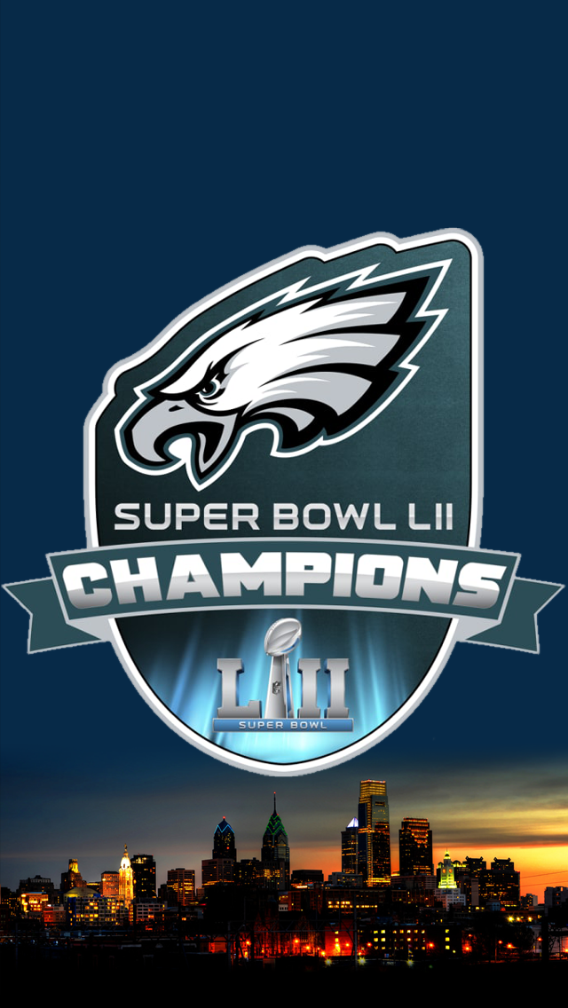 Philadelphia Eagles Super Bowl Wallpaper Iphone 640x1136 Download Hd Wallpaper Wallpapertip