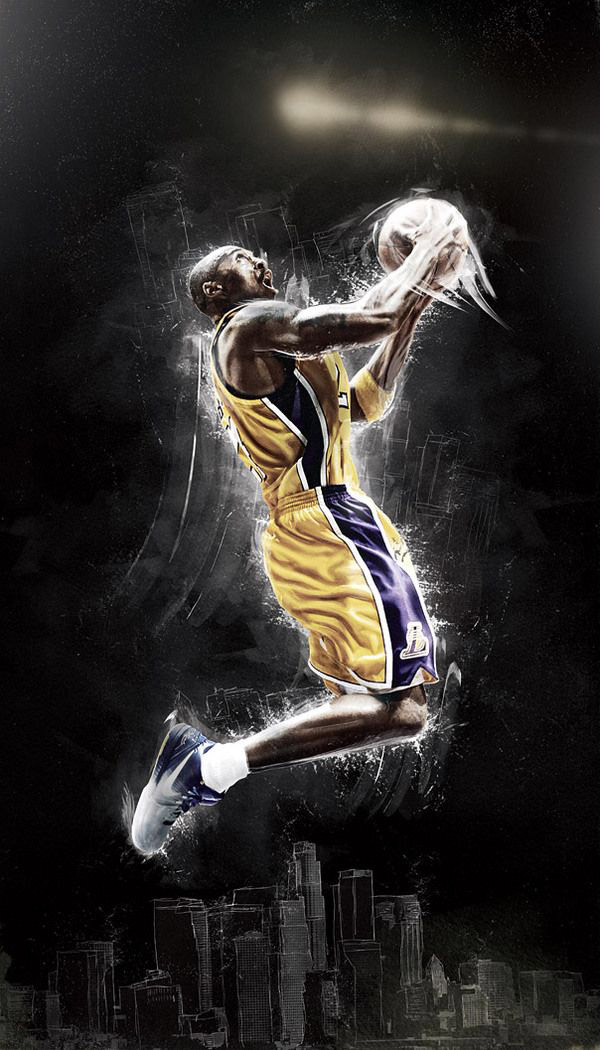 Hd Kobe Bryant For Android Iphone 1080p Cool Wallpaper Hd 600x1050 Download Hd Wallpaper Wallpapertip
