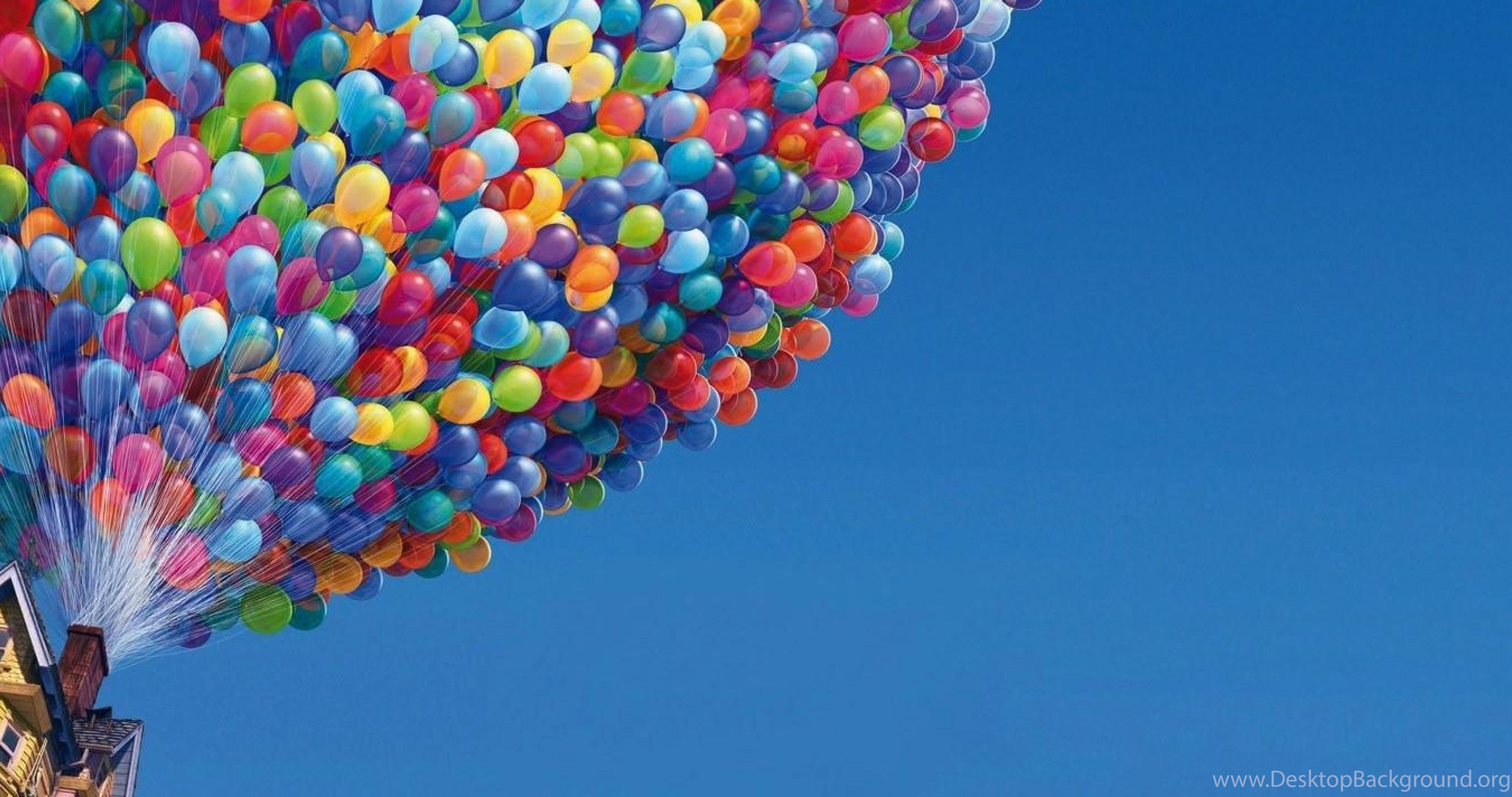House With Balloons Up Pixar Cartoons Up Hd Wallpapers Desktop Up Wallpaper Hd 4096x2160 Download Hd Wallpaper Wallpapertip