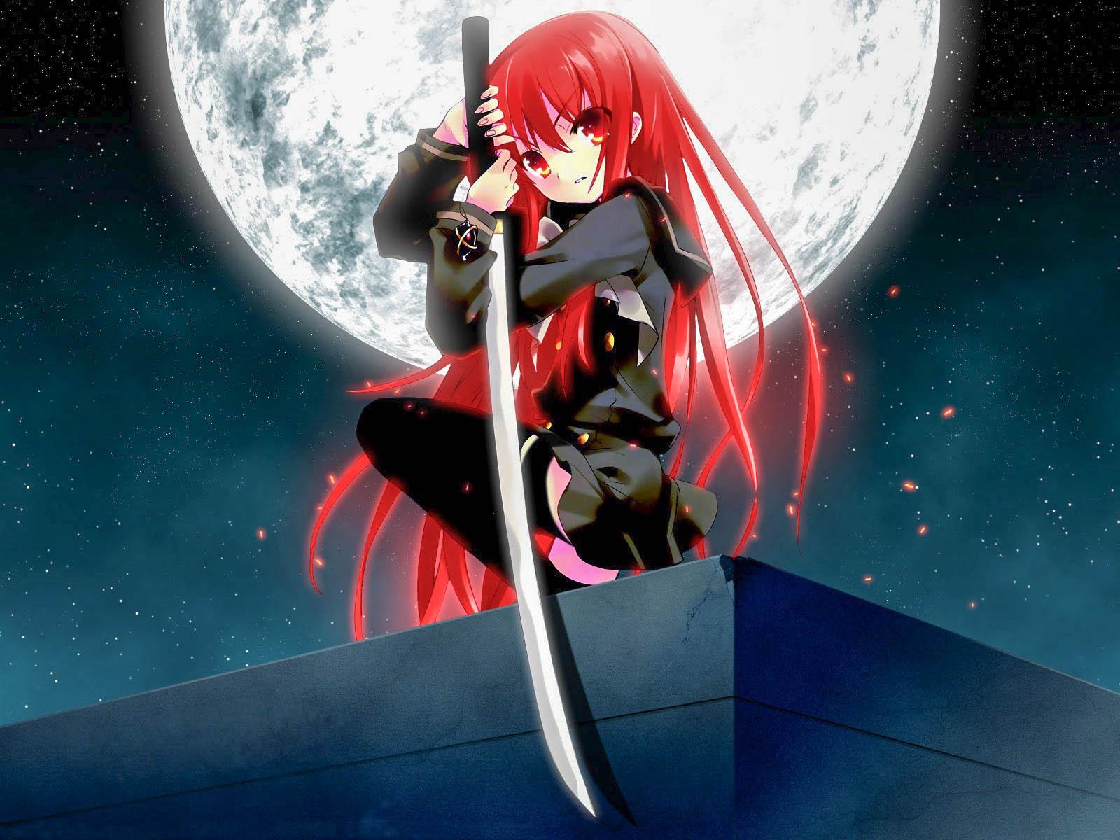 Cute Anime Ninja Girl - 1600x1200 ...