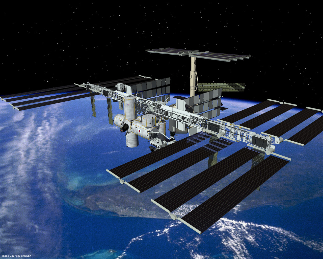 Hd Image Of International Space Station Download   15x15 ...