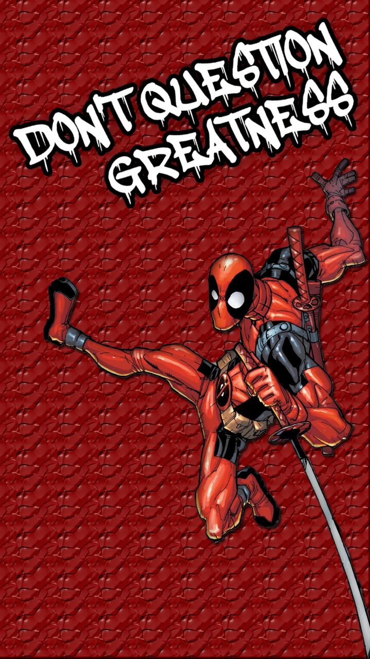 Deadpool Wallpaper Mobile By Thanossonic Comics 720x1280 Download Hd Wallpaper Wallpapertip