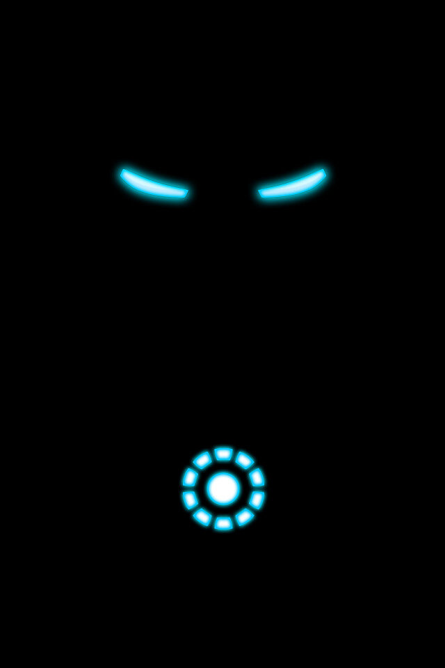 Iron Man Logo Wallpaper 640x960 Download Hd Wallpaper Wallpapertip