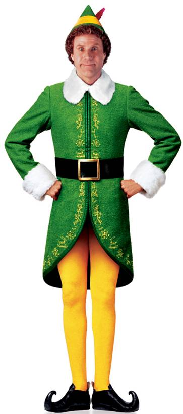 Buddy The Elf Through The Eyes Of My Kids Funny Is Elf The Movie 363x821 Download Hd Wallpaper Wallpapertip