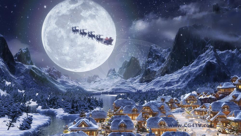 Cartes De Noel Animees Gratuites A Telecharger Fond D Ecran De Noel En Mouvement 1000x563 Wallpapertip