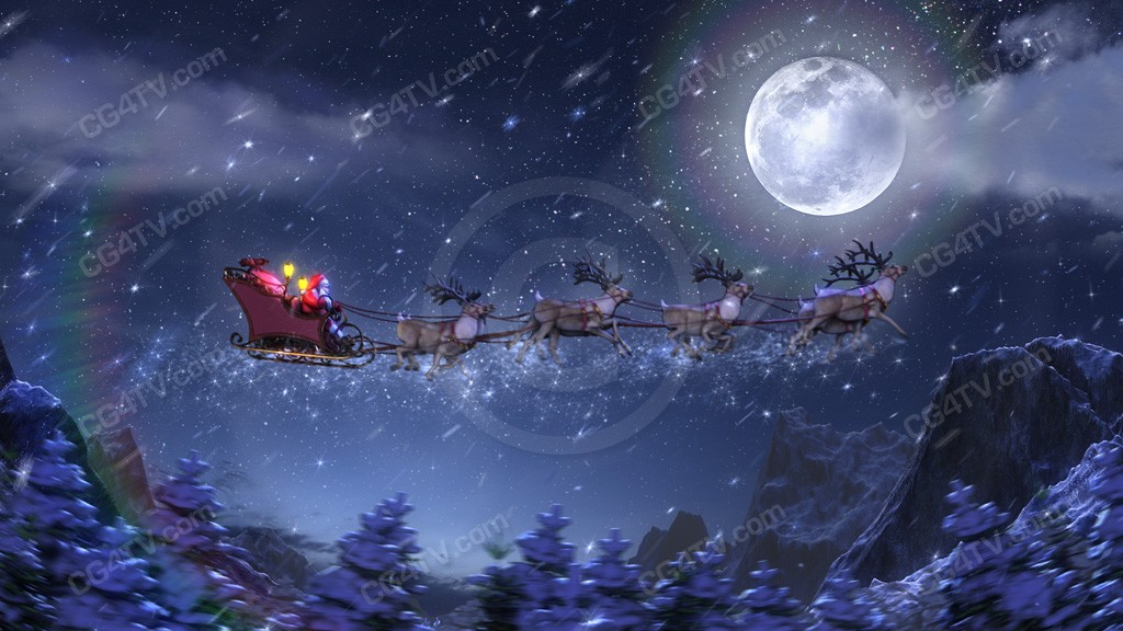 3d Animations Christmas Animated Background Christmas Animated Magical Christmas Background 1024x576 Download Hd Wallpaper Wallpapertip