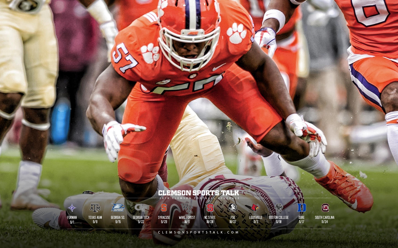 Clemson Football Background 2019 2880x1800 Download Hd Wallpaper Wallpapertip
