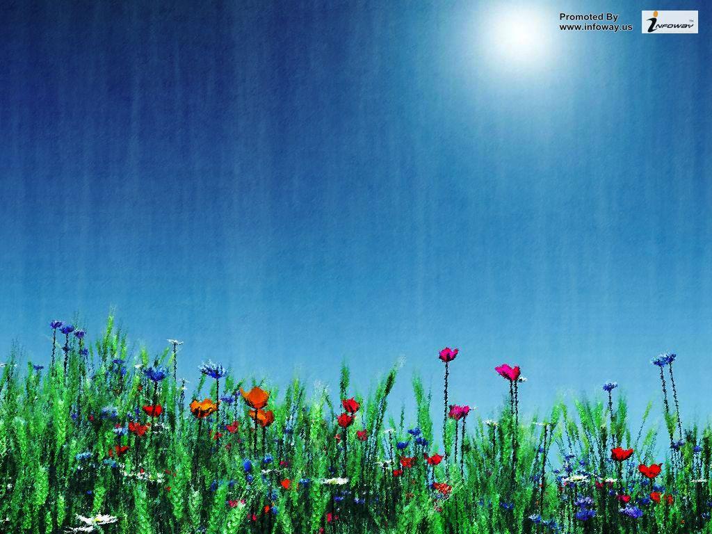 Beautiful Flower Scenery Wallpapers Beautiful Scenery Free Zoom Backgrounds Spring 1024x768 Download Hd Wallpaper Wallpapertip
