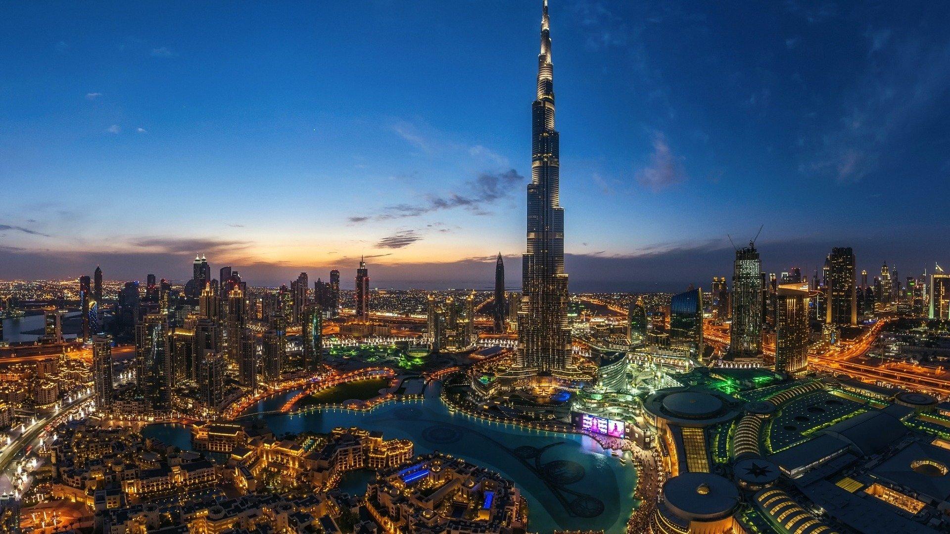 Burj Al Khalifa Dubai Tapeten 1920x1080 Wallpapertip