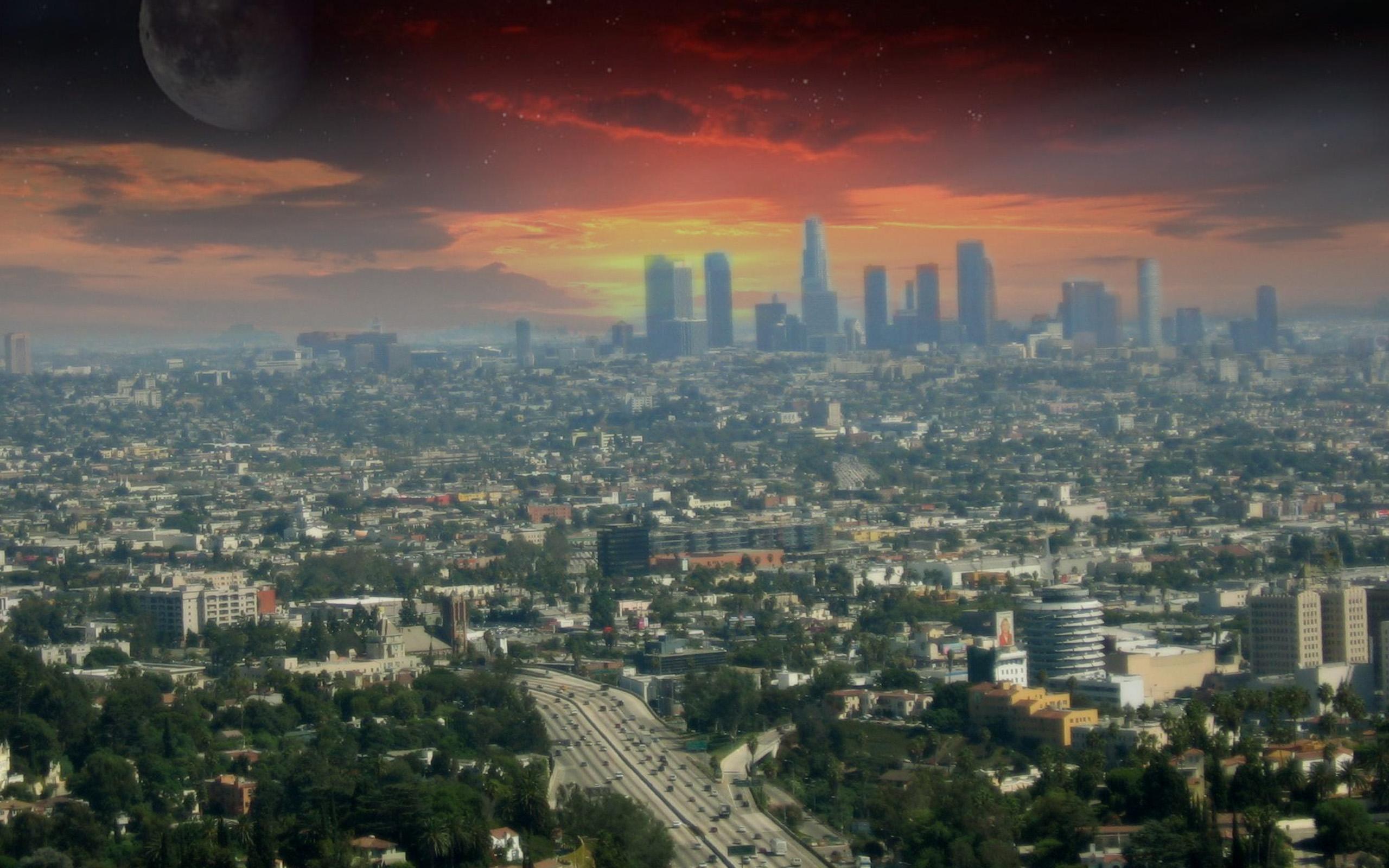 ロサンゼルス ロサンゼルスデスクトップ壁紙 2560x1600 Wallpapertip