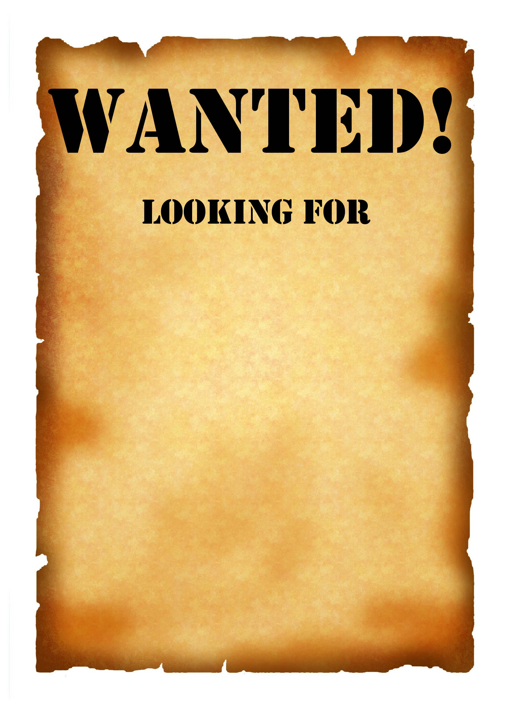 Wanted Poster Template 2 By Lizzy2008 Blank Template Wanted Poster 1754x2481 Download Hd Wallpaper Wallpapertip